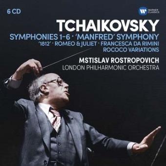 6 Symphonies, Manfred Symphony 1812, Roméo et Juliette Coffret