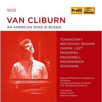 VAN CLIBURN PIANO COLLECTION/10CD