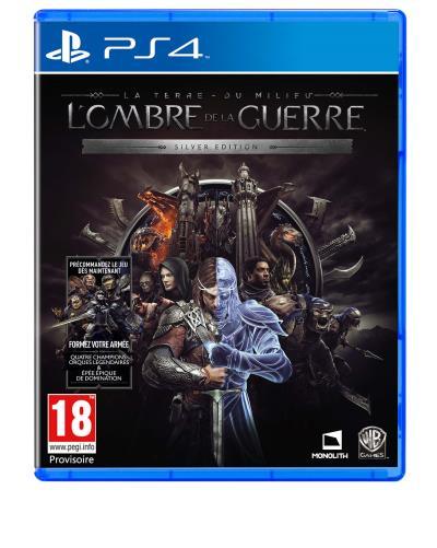La Terre du Milieu LOmbre de la Guerre PS4 Silver Edition