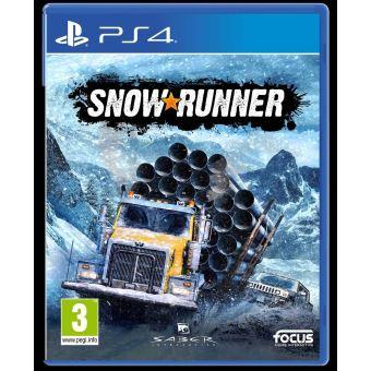 SNOW RUNNER FR/NL PS4