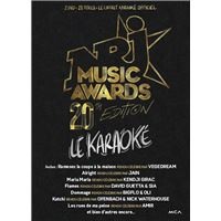NRJ Music Awards 20th Edition Karaoké DVD
