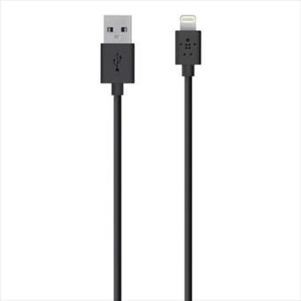Câble Belkin Recharge et Synchronisation Lightning vers USB 1.2 m Noir