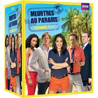 Meurtres au paradisCoffret Meurtres au Paradis Saisons 1 à 7 DVD