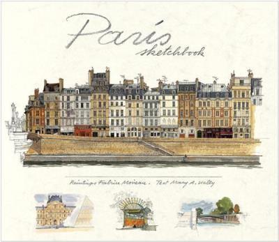 Paris sketchbook Fabrice Moireau