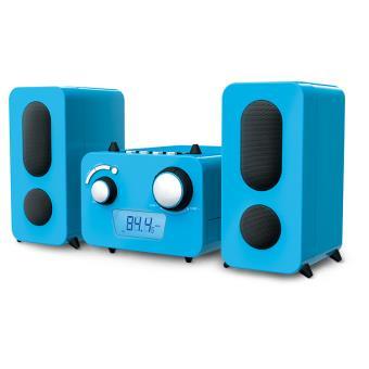 Micro chaîne MP3 USB + Stikers BigBen Bleu