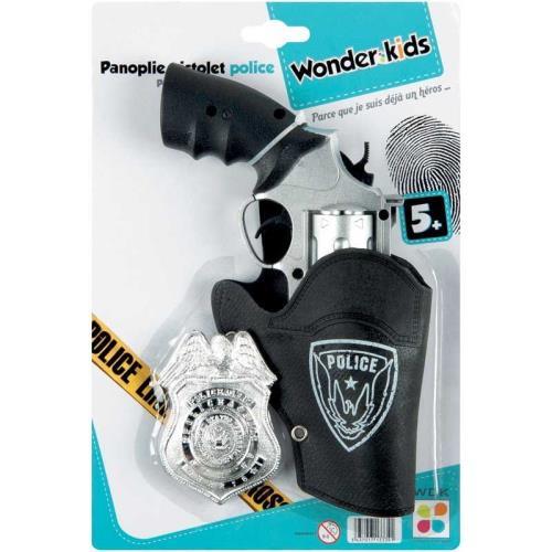Panoplie Pistolet et accessoires Police WDK