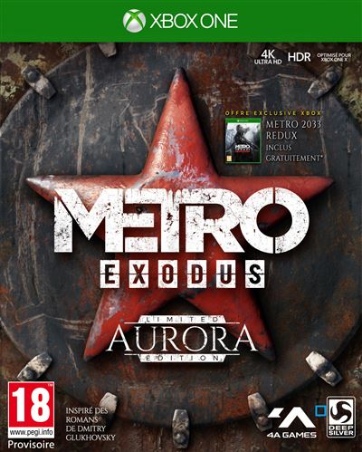 Metro Exodus Aurora Edition Limitée Xbox One