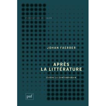 Après la littérature