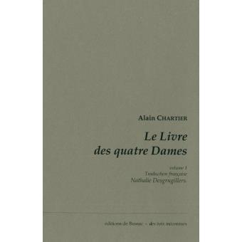 Le livre des quatre dames,1:traduction franþaise