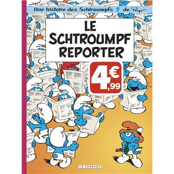 Les SchtroumpfsLe Schtroumpfs reporter
