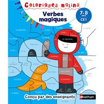 Coloriages Malins Verbes Magiques CE1