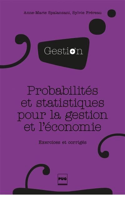 Probabilites et statistiques pour la gestion et eco nv couv