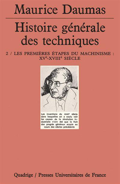 Histoire générale des techniques