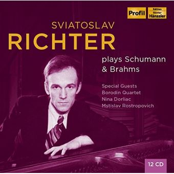 Svjatoslav Richter plays Schumann & Brahms - 12CD