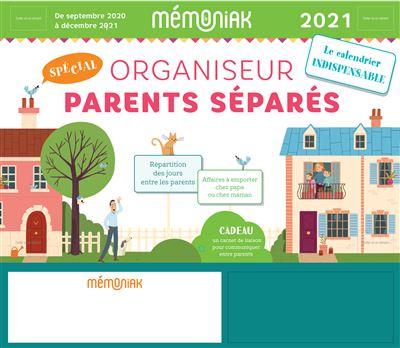 Organiseur Parents séparés Mémoniak 2020-2021