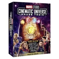 Coffret Marvel Phase Cinematic Universe 3.2 6 Films Blu-ray