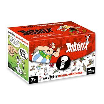 Asterix La Boite Remue Meninges Asterix Ned Anne Kalicky Mathilde Ricciardelli Boite Ou Accessoire Achat Livre Fnac