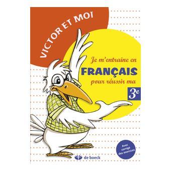 Je M Entraine En Francais 3eme Primaire