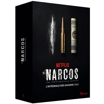 NarcosCoffret Narcos Saisons 1 à 3 DVD