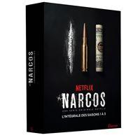 Coffret Narcos Saisons 1 à 3 DVD