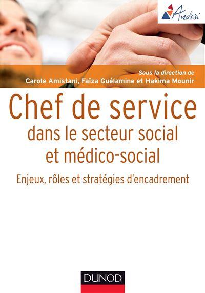 Chef de service dans le secteur social et médico-social - Enjeux, rôles et stratégies d'encadr