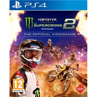 MONSTER ENERGY SUPERCROSS 2 FR/NL PS4