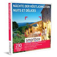 Coffret cadeau Smartbox Nuits et Délices