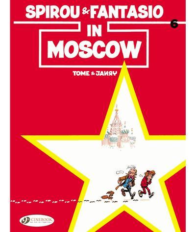 Spirou & Fantasio - tome 6 In Moscow