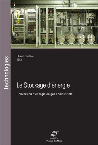 Le stockage d'énergie conversion d'énergie en gaz combustible