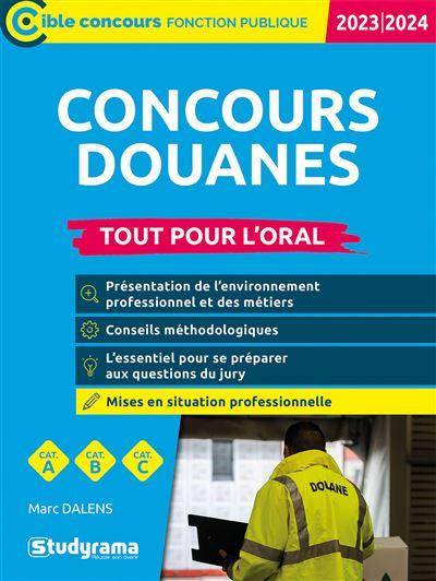 Concours douanes 2020-2021
