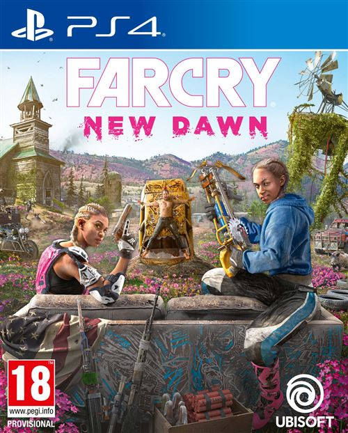 Far Cry 5 New Dawn PS4
