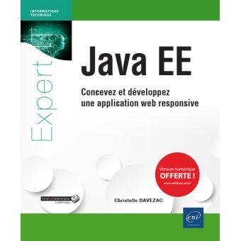 Java ee concevez et developpez une application web responsi