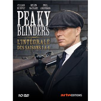 Peaky blindersCoffret Peaky Blinders Saisons 1 à 4 DVD