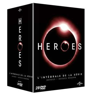 HeroesHeroes, Heroes Reborn Coffret DVD