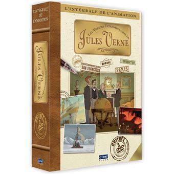 Coffret Les Voyages extraordinaires de Jules Verne L'intégrale de l'animation DVD