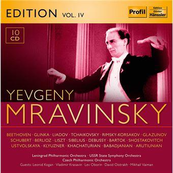 EVGENY MRAVINSKY VOL.4/10CD