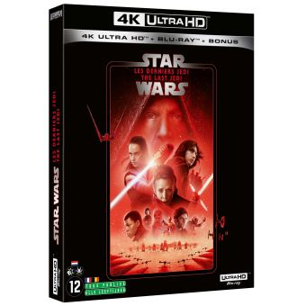 Star WarsStar Wars : Les Derniers Jedi Blu-ray 4K Ultra HD