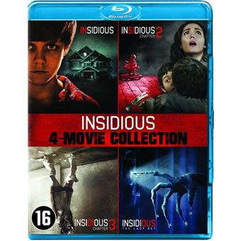 Insidious 1-4-BOX-NL-BLURAY