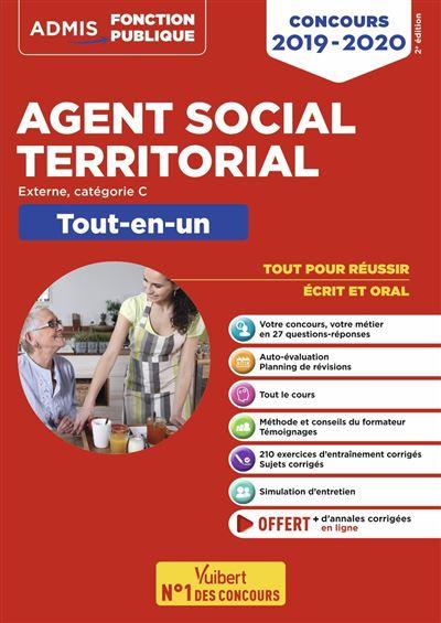 bd2b2e6cd4e Concours Agent social territorial principal de 2ème classe Catégorie C Tout -en-un Concours externe - broché - Pierre-Brice Lebrun