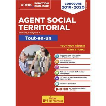 ff6a4f25f07 Concours Agent social territorial principal de 2ème classe Catégorie C Tout -en-un Concours