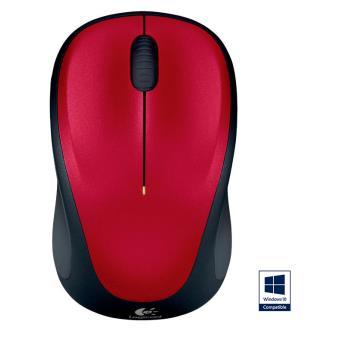 Logitech M235 - Draadloze optische muis - Rood