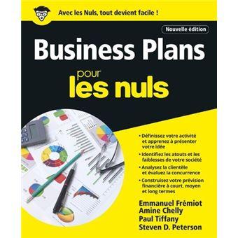 Business plan pour les nuls pdf