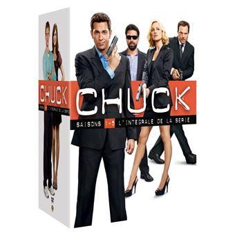 ChuckChuck - Coffret intégral des Saisons 1 à 5