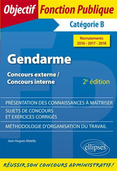 Gendarme : catégorie B
