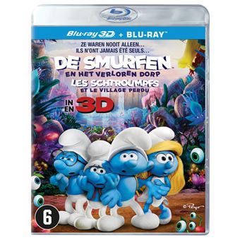 De Smurfen: The Lost Village - Nl/Fr - Bluray 3D
