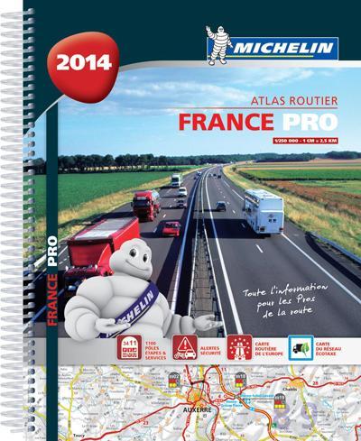 Atlas routier France professionnel