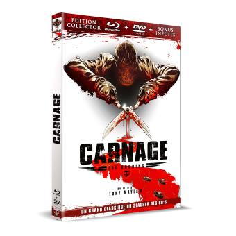 Carnage Edition Collector Combo Blu-ray DVD
