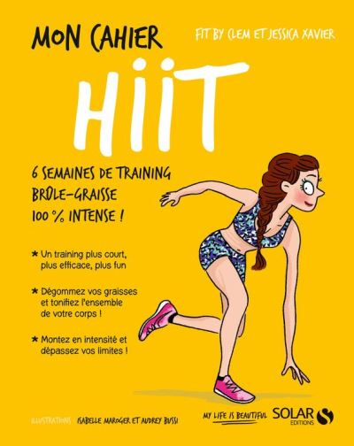 Mon cahier HIIT - 9782263156335 - 4,99 €