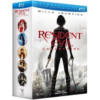 Resident EvilResident Evil - L'intégrale 5 Films - Blu-Ray