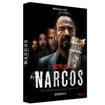 NarcosCoffret Narcos Saison 3 DVD